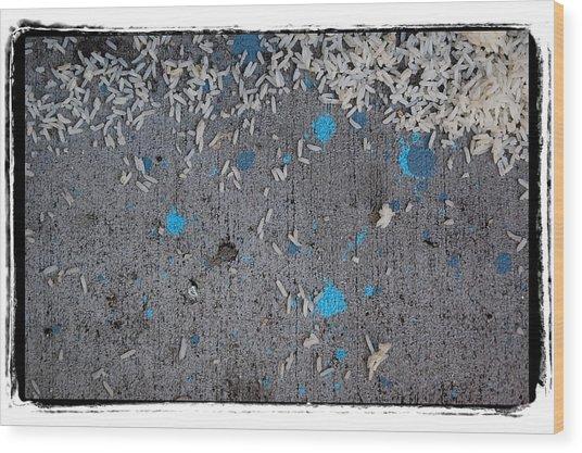 Abstract 74 Wood Print