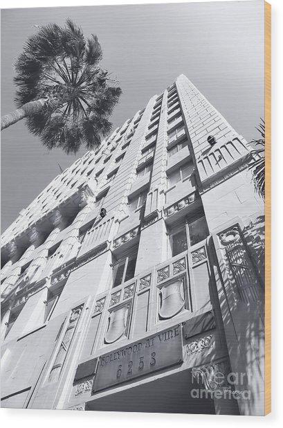 6253 Hollywood At Vine Wood Print