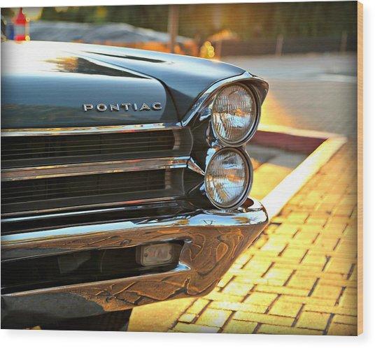 '65 Pontiac Wood Print