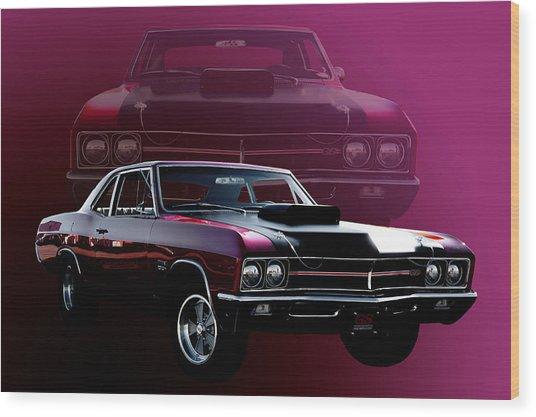 67 Buick Gs 400 Wood Print