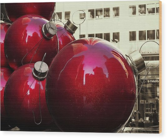 6th Avenue Wood Print by JAMART Photography