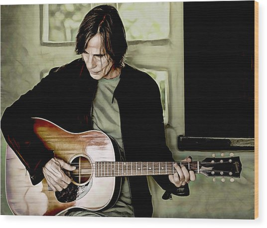 Jackson Browne Collection Wood Print