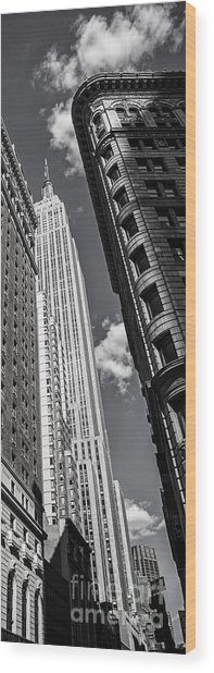 Wood Print featuring the photograph New York  by Juergen Held