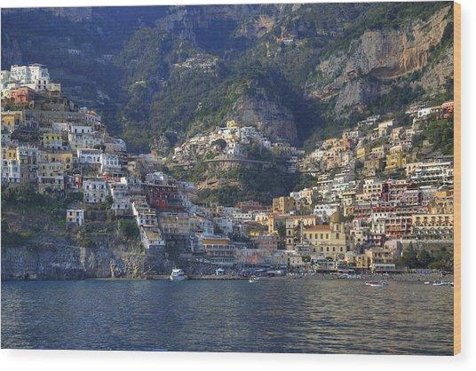 Positano - Amalfi Coast Wood Print