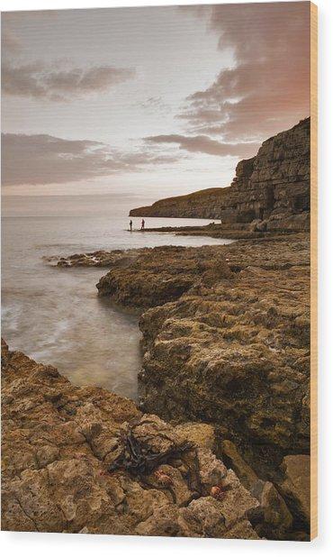 Seacombe Bay Wood Print