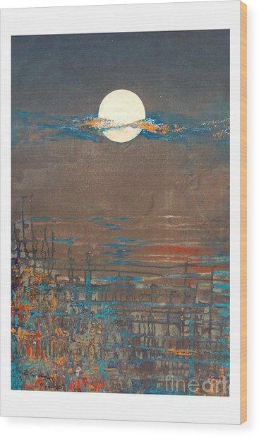 Untitled Wood Print by Padmakar Kappagantula
