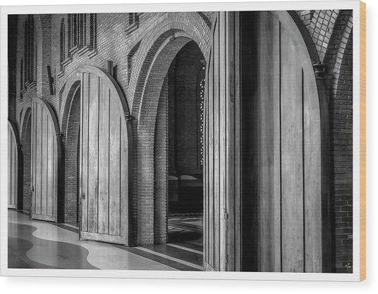7762-aparecida-sp Wood Print