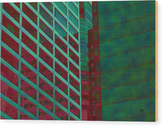 7985 Wood Print by Jim Simms