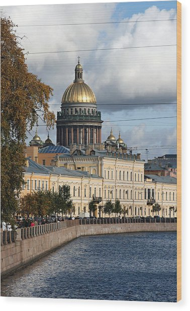 St. Petersburg Wood Print