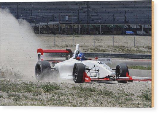 Utah Grand Prix Wood Print by Dennis Hammer