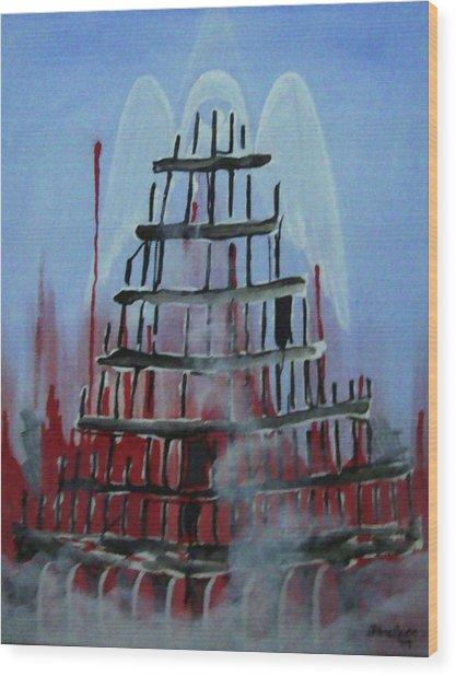 9-11 Wood Print