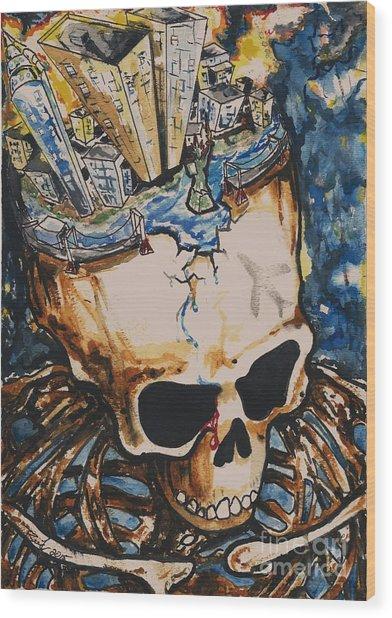 9/11 Wood Print