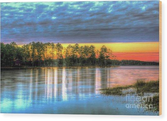 Flint Creek Wood Print