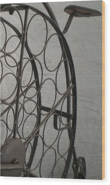 Untitled Wood Print by Laura Burchfield