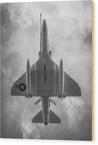A-4 Skyhawk Wood Print