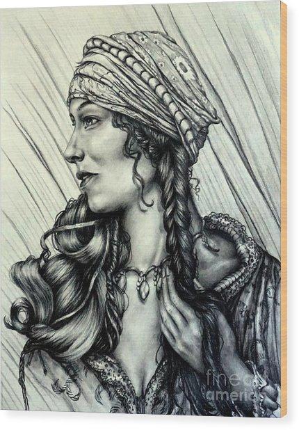 A Beautiful Soul Is Never Forgotten Wood Print