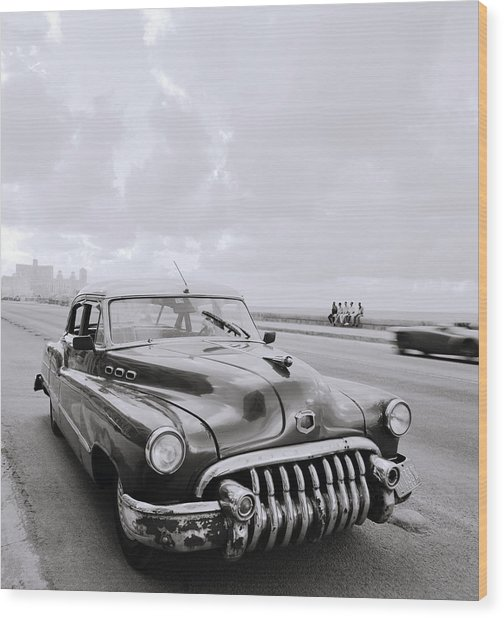 A Buick Car Wood Print