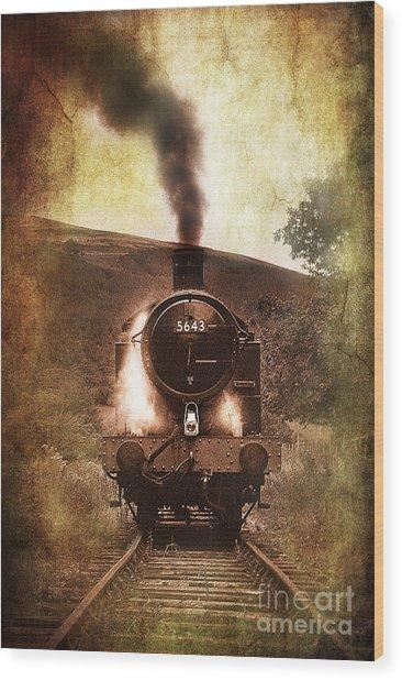 A Bygone Era Wood Print