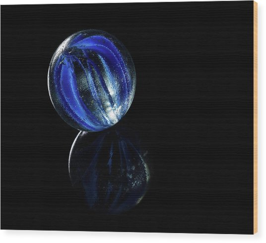 Wood Print featuring the photograph A Child's Universe 5 by James Sage