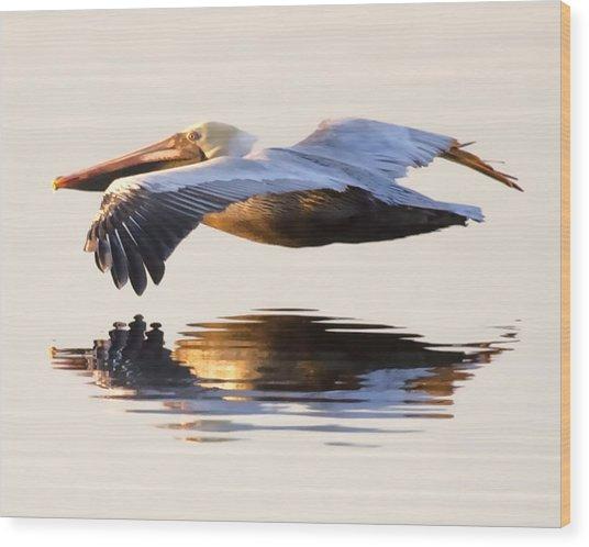 A Closer Look Wood Print