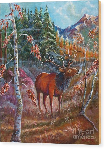 A Cry In The Wild Wood Print