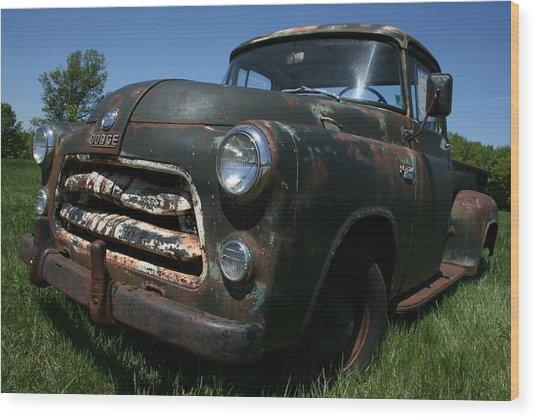 A Dodge Classic Wood Print
