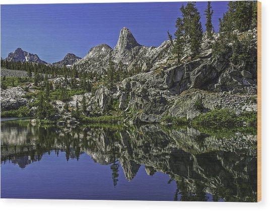 A Dollar Lake Reflection Wood Print