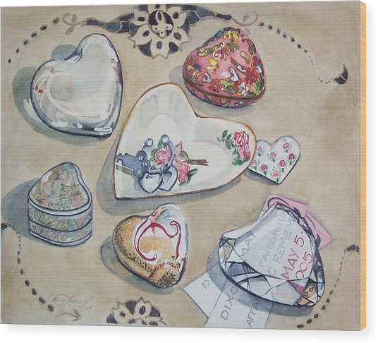 A Fair Of Hearts Wood Print by Jane Loveall