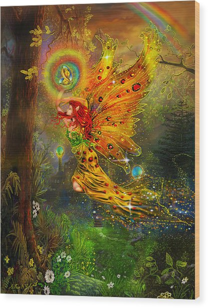 A Fairy Tale Wood Print
