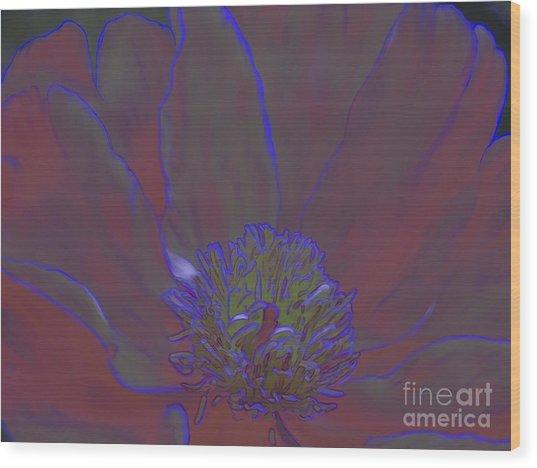 A Flower For Alphonse Wood Print