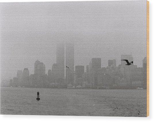 A Foggy Day Wood Print by Alex Kantor