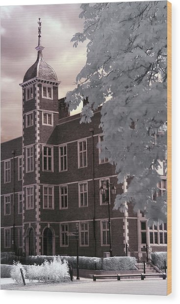 A Glimpse Of Charlton House, London Wood Print