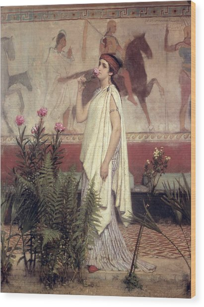 A Greek Woman Wood Print