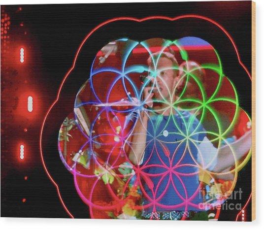 A Head Full Of Dreams - Chris Martin Wood Print