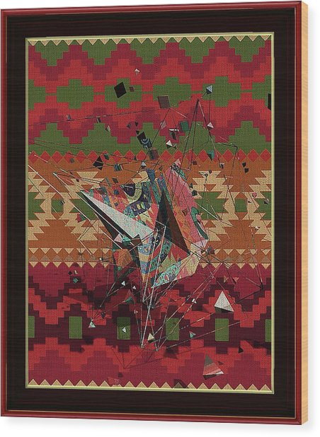 A La Kandinsky C1922 Wood Print