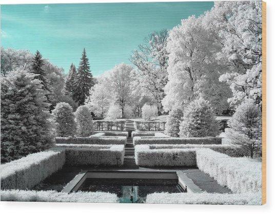 A Maze Wood Print