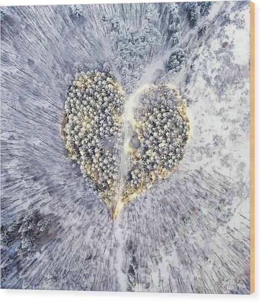 A New Breath Wood Print