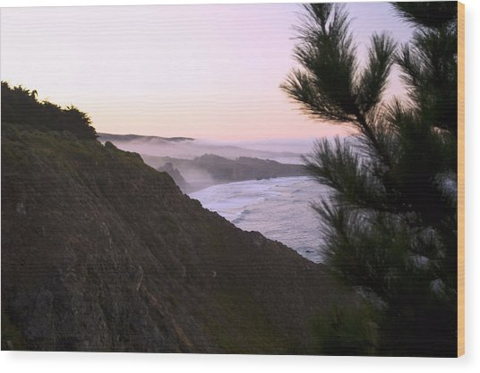 A New Day Ragged Point Wood Print
