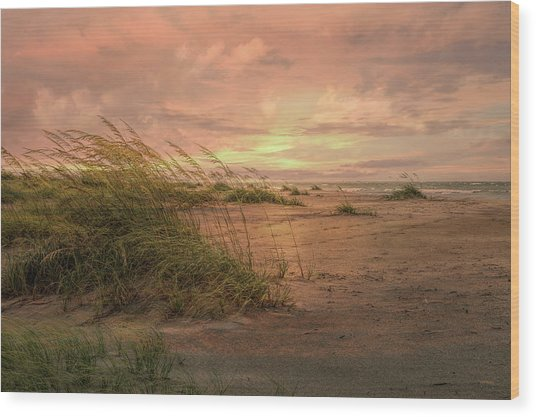 A Painted Sunrise Wood Print