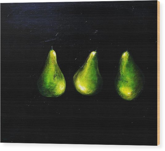 A Pair And A Half Wood Print by Steffen  Anderson