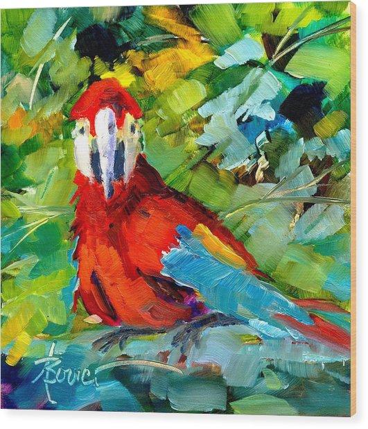 Papagalos Wood Print