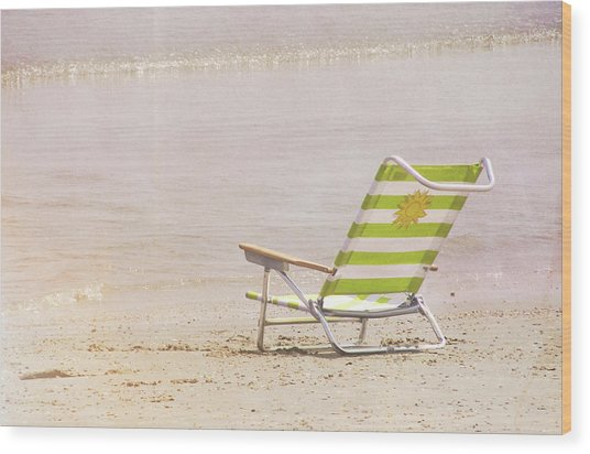 A Perfect Vacation Wood Print by JAMART Photography