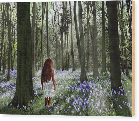 A Return To Innocence Wood Print