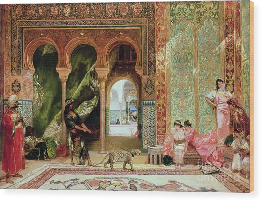 A Royal Palace In Morocco Wood Print