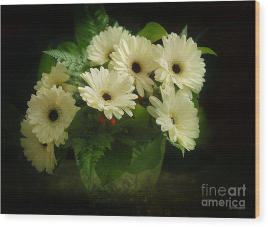 A Simple Bouquet Wood Print