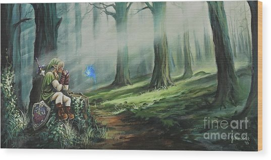 A Song For Navi Wood Print