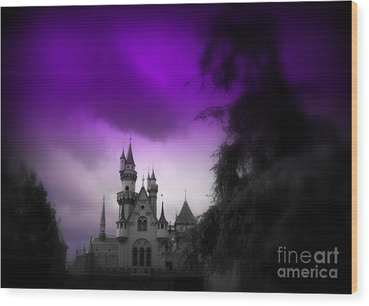 A Spell Cast Once Upon A Time Wood Print