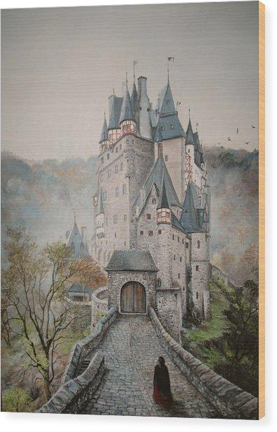 A Story At Eltz Castle Wood Print