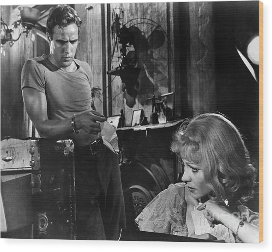 A Streetcar Named Desire Wood Print by Granger