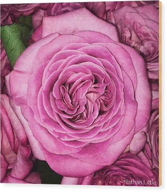 A Thousand Petals Wood Print